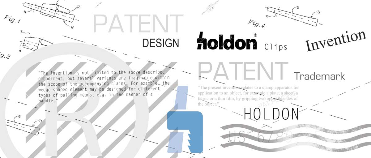 Information about Holdon patents and protections.