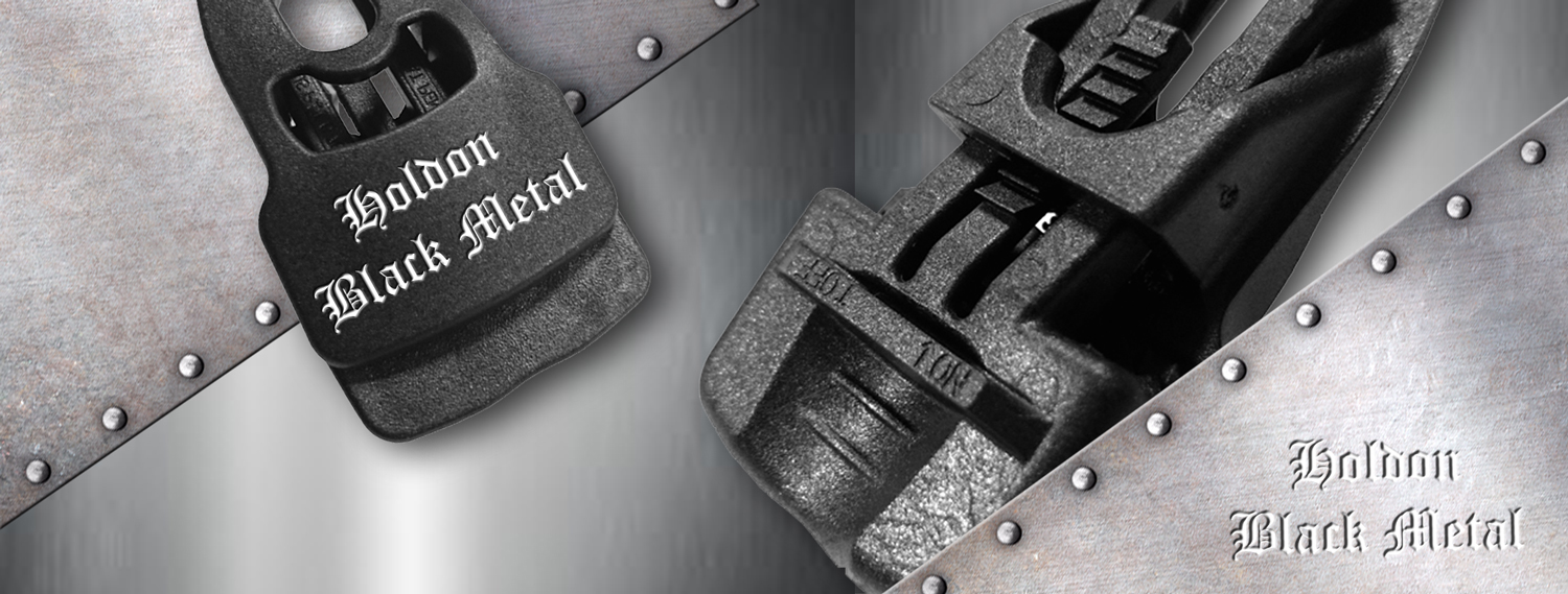 Holdon® Black Metal Clips with humidity resistance