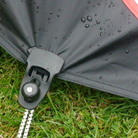 New guy rope attachments, peg points on groundsheet - Use Holdons